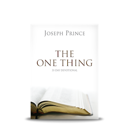 The one thing31 day devotional joseph prince ministries the one thing31 day devotional fandeluxe Choice Image